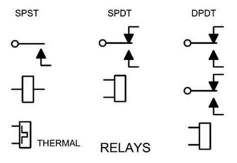 micro switch schematic symbol