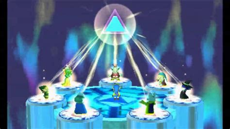 The Legend Of Zelda A Link Between Worlds The Seven