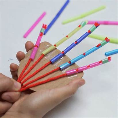 Diy Projects Crafts Straw Stem Science Easy