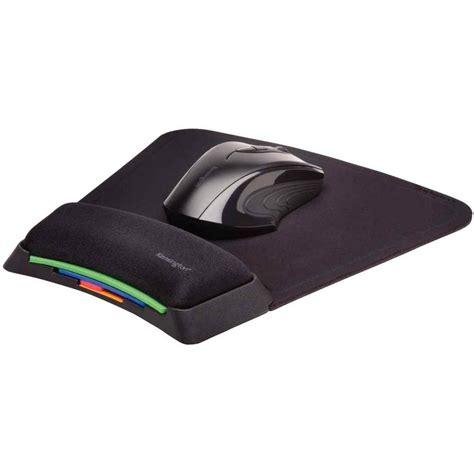 tapis de souris repose poignet noir kensington vente de tapis de souris kwebox