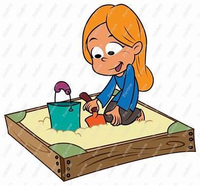 Sandbox Clipart Sand Pit Clip Playing Box