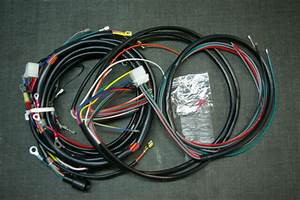 Harley Sportster Xlcr Complete Wiring Harness Xlcr 1977