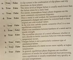 Solved  Please Help Me With These True  False Questions For
