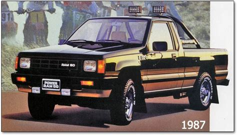 Dodge Small Truck by Dodge Ram 50 Mitsubishi Built Compact Classic