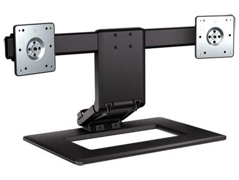 pc bureau hp 2 duo hp adjustable dual display stand aw664aa hp australia