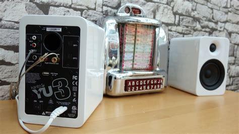 kanto yu powered bookshelf speakers  bluetooth