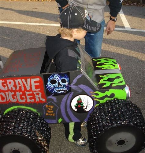 grave digger monster truck fabric homemade halloween costumes and monsters on pinterest