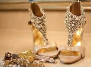 chagne colored wedding shoes gold wedding shoes chagne color wedding shoes rhinestone pearl stiletto platform