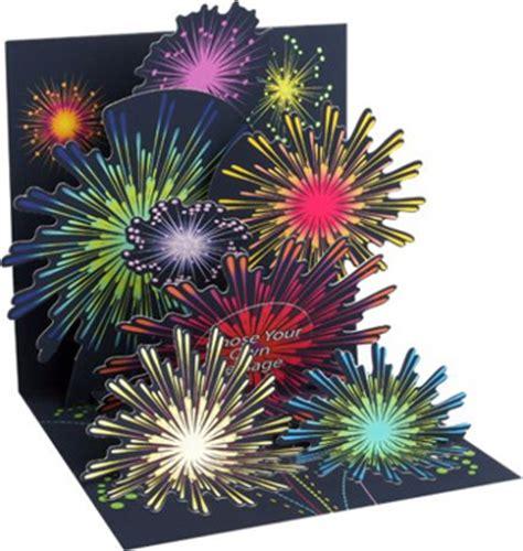 pop  treasures greeting card fireworks celebration