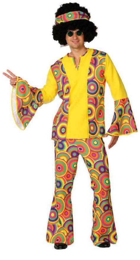 motto 80er klamotten 70er 80er jahre kleid kost 252 m flowerpower herren hippie motto disco anzug ebay