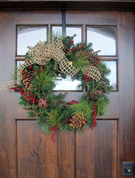 Free Shipping Christmas Holiday Wreath 22 Inch Pvc Pine