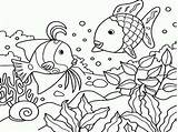 Coloring Sea Under Pages Ocean Fish Printable Gossip Lauren sketch template