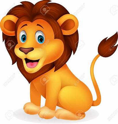 Lion Clipart Smiling Cartoon Illustration Clipground