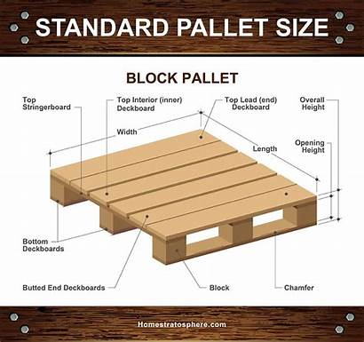 Pallet Pallets Types Dimensions Standard Wood Different