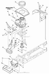 Murray 7800400 - Elt22460h  22hp 46 U0026quot  Hydro  2009  Parts Diagram For Engine Group