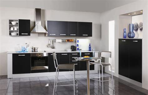 meuble cuisine noir meuble de cuisine haut angle noir u directchezvous com
