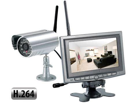 visortech kabelloses 220 berwachungssystem mit ir funk kamera h 264