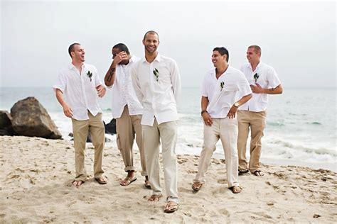 How To Choose A Groom Suit For A Beach Wedding Beach