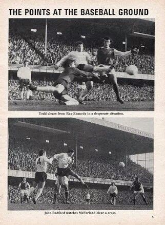 Derby Co 5 Arsenal 0 in Nov 1972 at the Baseball Ground ...