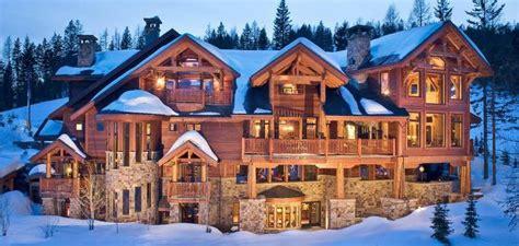 mansion log cabin looks like heaven wished it was mine home log