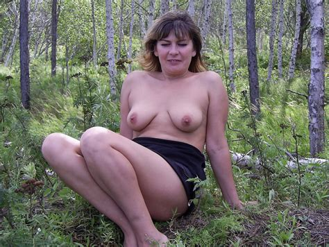 Russian Wife Posing Naked At Forest Russian Sexy Girls