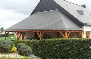 Rehausse Velux Toit Faible Pente : charpente bois toit faible pente obtenez des id es de design int ressantes en ~ Nature-et-papiers.com Idées de Décoration