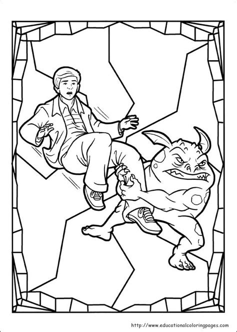 spiderwick coloring pages educational coloring 446 | spiderwick 05