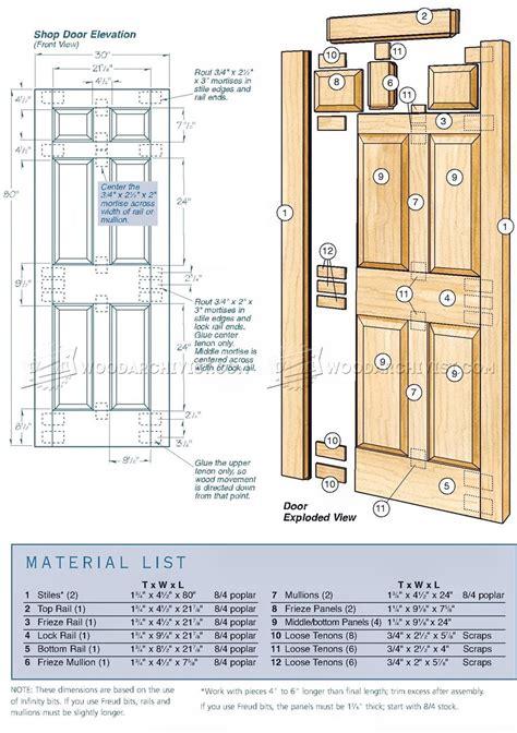 making door woodarchivist