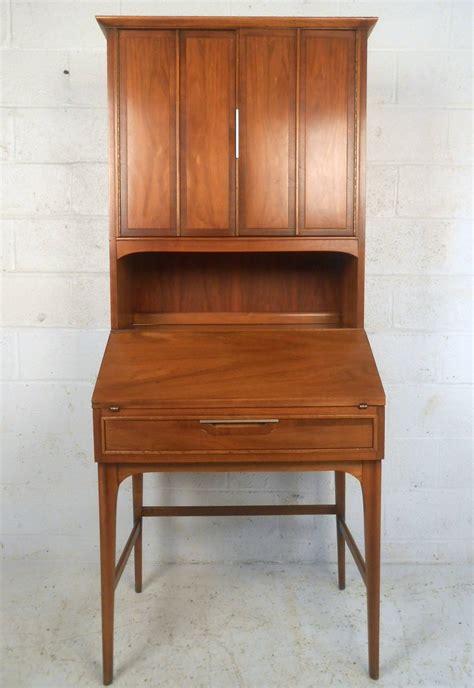 mid century modern drexel style secretary hutch  stdibs