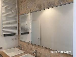 miroir de salle de bain With miroir de salle de bain sur mesure