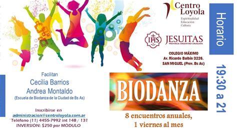 Taller de Biodanza - Jesuitas
