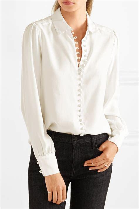 silk blouses ideas  pinterest blouse designs