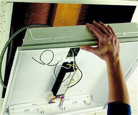 installing fluorescent lights how to install a light