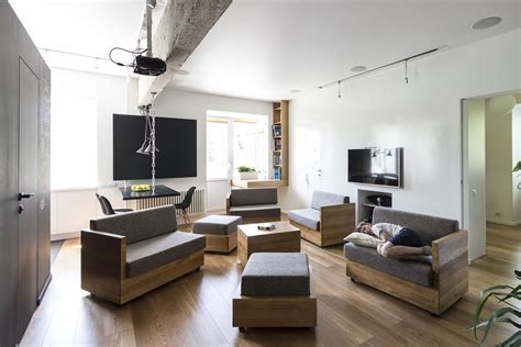Living Room Seating Solutions by Family Apartment Of Original Design Solutions