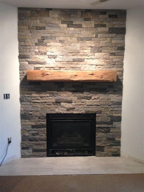 basement fireplace  airstone