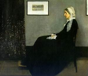 Oil Painting Reproduction of Whistler- Portrait of the ...