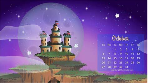 calendar wallpaper  october  calendar