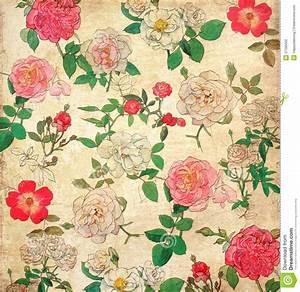 Floral Wallpaper Vintage   WallMaya.com