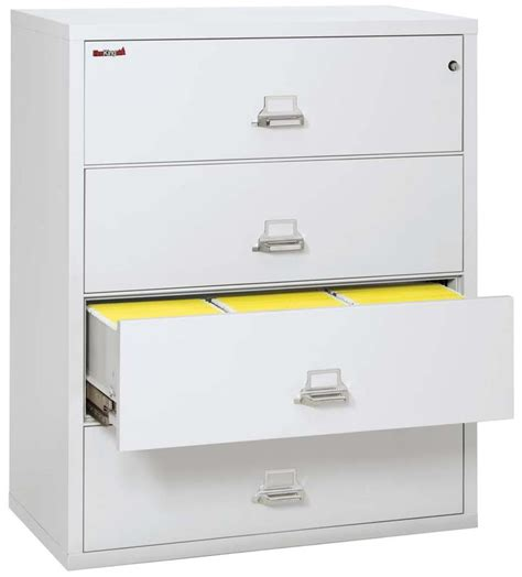 fireking lateral file cabinet fireking 4 4422 c four drawer 44 quot wide lateral file