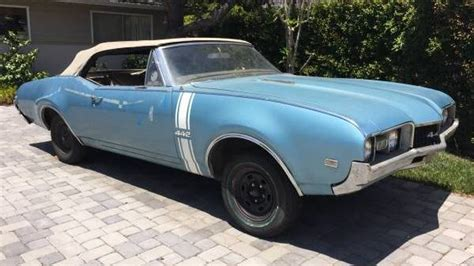 optioned  oldsmobile  convertible