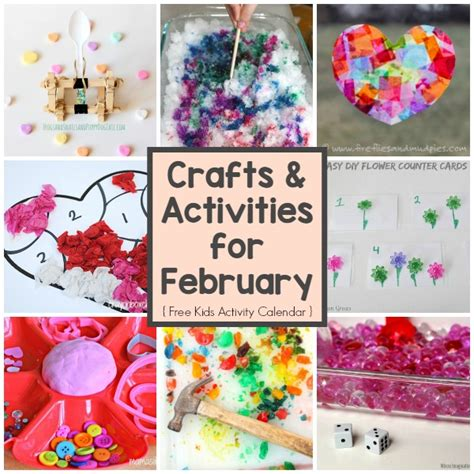 february art projects preschool a month of crafts amp activities for february where 230