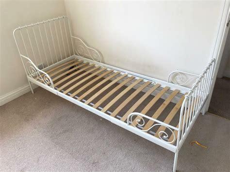 Ikea Minnen Metal Extendable Bed Frame