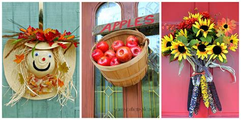 fall door decorating ideas 18 fall door decorations ideas for decorating your front door autumn outdoor decorations idea
