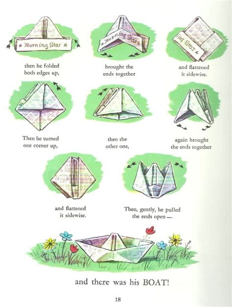 How To Make A Paper Boat Procedure by Vn05101 Learning Study Archives V0 14