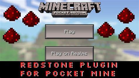 Redstone Ls Minecraft Pocket Edition by Redstone In Minecraft Pocket Edition 0 7 2 Pocket Mine