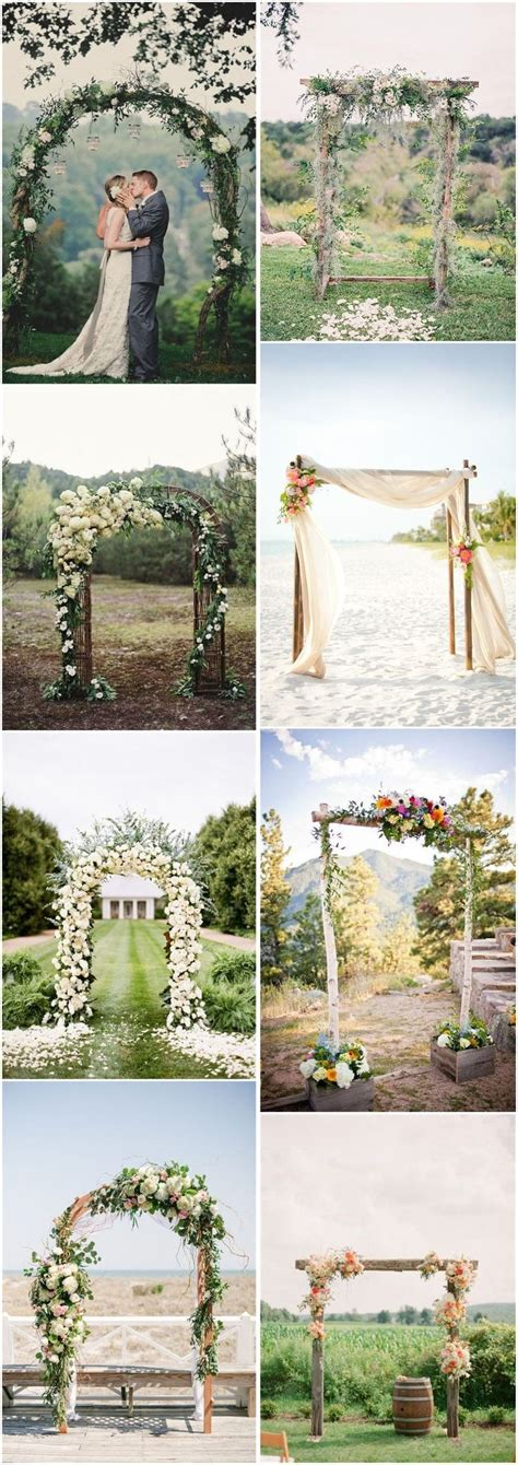 25 best ideas about simple wedding arch on