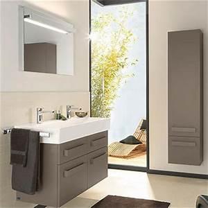 meubles salle de bains villeroy et boch up2u espace aubade With meuble salle de bain villeroy boch