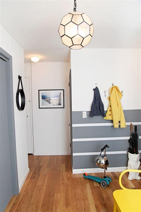 Ideen Für Wandstreifen  Ein Beliebtes Designelement Zuhause