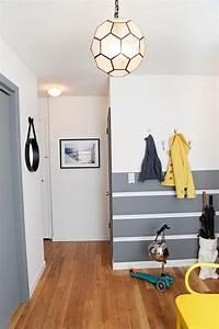 Flur Gestalten Wände Grau : ideen f r wand streifen ein beliebtes designelement zuhause ~ Bigdaddyawards.com Haus und Dekorationen