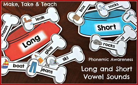 teaching long  short vowel sounds   teach